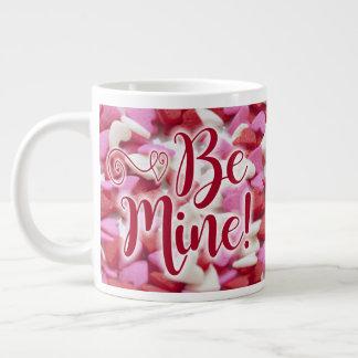 Valentines Day Coffee Mug Glowing Hearts Be Mine