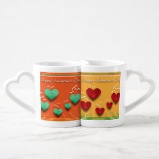 Valentines Day Coffee Mug Set