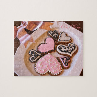 Valentine's Day Cookie Hearts Puzzle