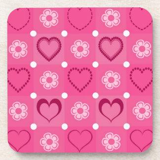 Valentine's Day Beverage Coaster