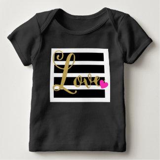 Valentine's Day Cursive Love Baby T-Shirt
