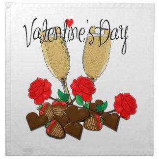 Valentine's day design napkin