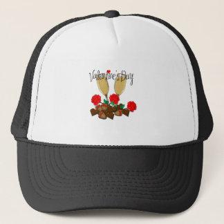 Valentine's day design trucker hat