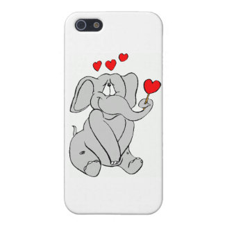 Valentine's Day Elephant iPhone 5 Covers