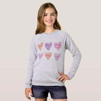 Valentine's Day Encouraging Hearts Sweatshirt