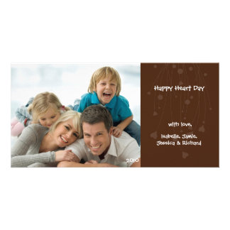 Valentine's Day Family Love Photo Card