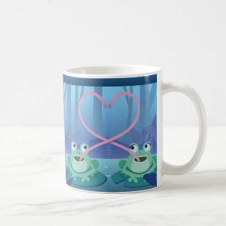 valentines day frog lovers coffee mug