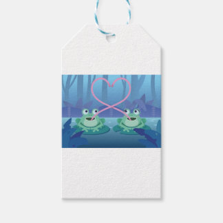 valentines day frog lovers gift tags