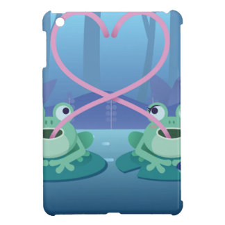 valentines day frog lovers iPad mini case