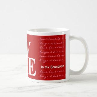 Valentine's Day Gift - Photo Mug - Grandpop