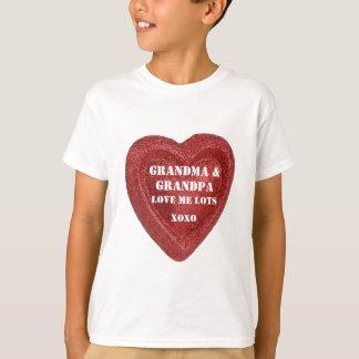 Valentine's Day Grandma & Grandma Love Me Heart T-Shirt