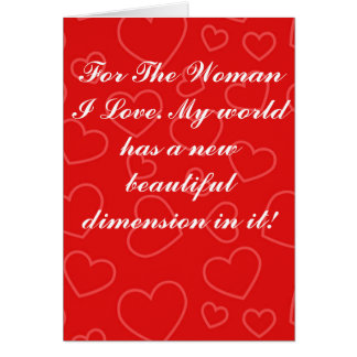 Valentine's Day Greeting Card - Dimensions