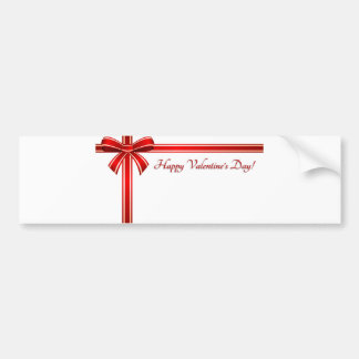 Valentine's Day Greeting, Happy Valentines Bumper Stickers