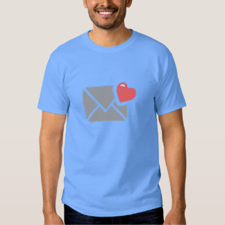 Valentine's Day Heart and Envelope Tshirts