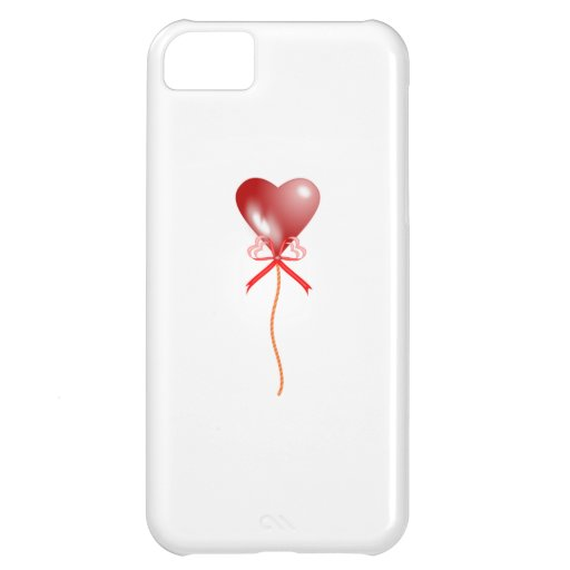 Valentine's Day Heart Balloon iPhone 5C Cases