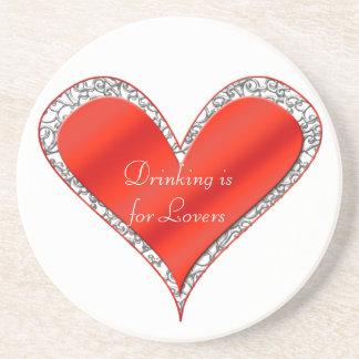 Valentine's Day Heart Coaster