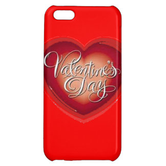 Valentines Day Heart Cover For iPhone 5C