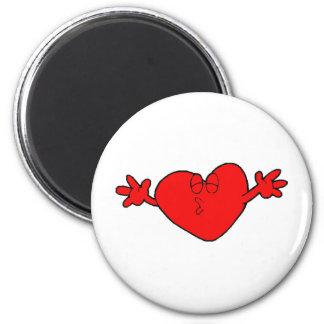 Valentine's Day Heart Refrigerator Magnet