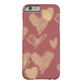 Valentines day hearts barely there iPhone 6 case