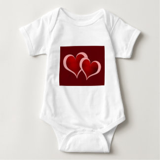 Valentine's Day Hearts Infant Creeper