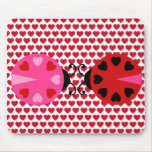 Valentines Day Hearts Pattern Affordable Mouse Pad