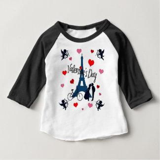 Valentine's day in Paris Baby T-Shirt
