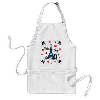 Valentine's day in Paris Standard Apron