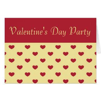 Valentine's Day Invitation Greeting Card