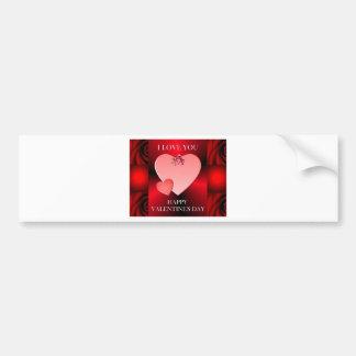 Valentine's Day Keepsakes Bumper Stickers
