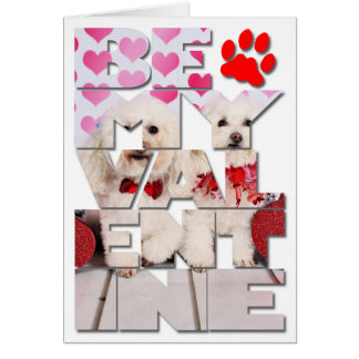 Valentine's Day - Kirby & Shelby - Poodles Card