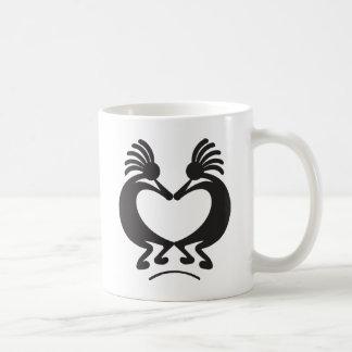 Valentine's day Kokopelli Coffee Mug