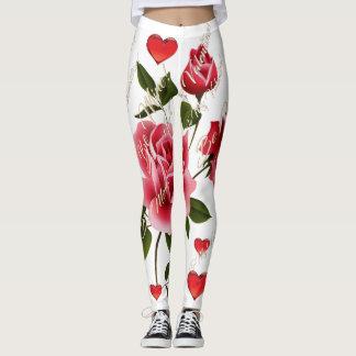 Valentine's Day Leggings