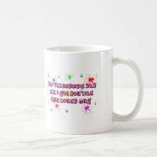 Valentines Day lousy mug. St. Valentine Basic White Mug