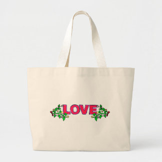 Valentine's Day Love Tote Bags