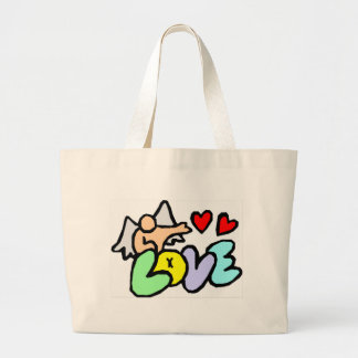 Valentine's Day Love Canvas Bag