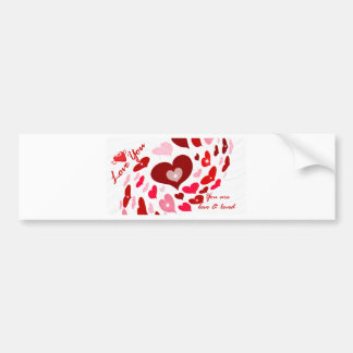 Valentine's Day,Love_ Bumper Sticker