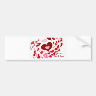 Valentine's Day,Love_ Car Bumper Sticker