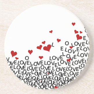 Valentine's Day Love Coaster