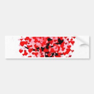 valentines day love romance soul mate tree nature bumper sticker