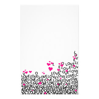 Valentine's Day Love Stationery