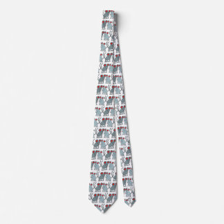 Valentine's Day Mice Neck Tie
