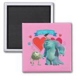 Valentine's Day - Monsters Inc. Magnets