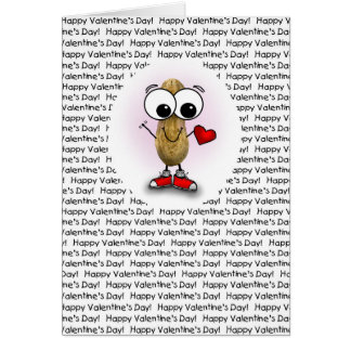 Valentine's Day Peanut Nuts about You Card