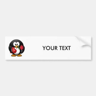 Valentine's Day Penguin Bumper Stickers
