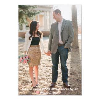 Valentine's Day Photo Card 9 Cm X 13 Cm Invitation Card