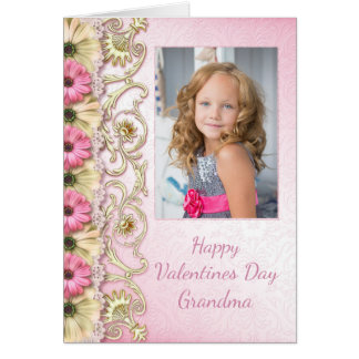 Valentine's Day Photo Card for Grandma