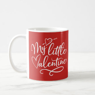 Valentine's Day Red & White Classic Mug