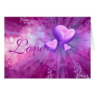 Valentine's Day Romantic Greeting Card