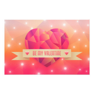 Valentine's Day Romantic Love Modern Stationery