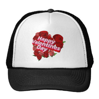 Valentine's Day Roses T-shirts and Gifts Trucker Hats